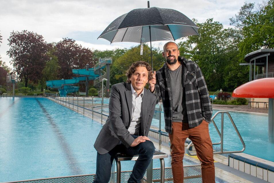 Die Stadtwerke wollen die Döbelner nicht im Regen stehen lassen: Im Juni soll das Freibad eröffnet werden. Im Sommer ist geplant, die Schwimmanfänger auszubilden.