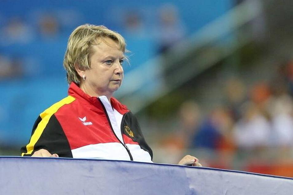 Gabriele Frehse ist derzeit als Trainerin am Olympiastützpunkt Chemnitz freigestellt. Wie es für sie weitergeht, ist nach wie vor unklar.
