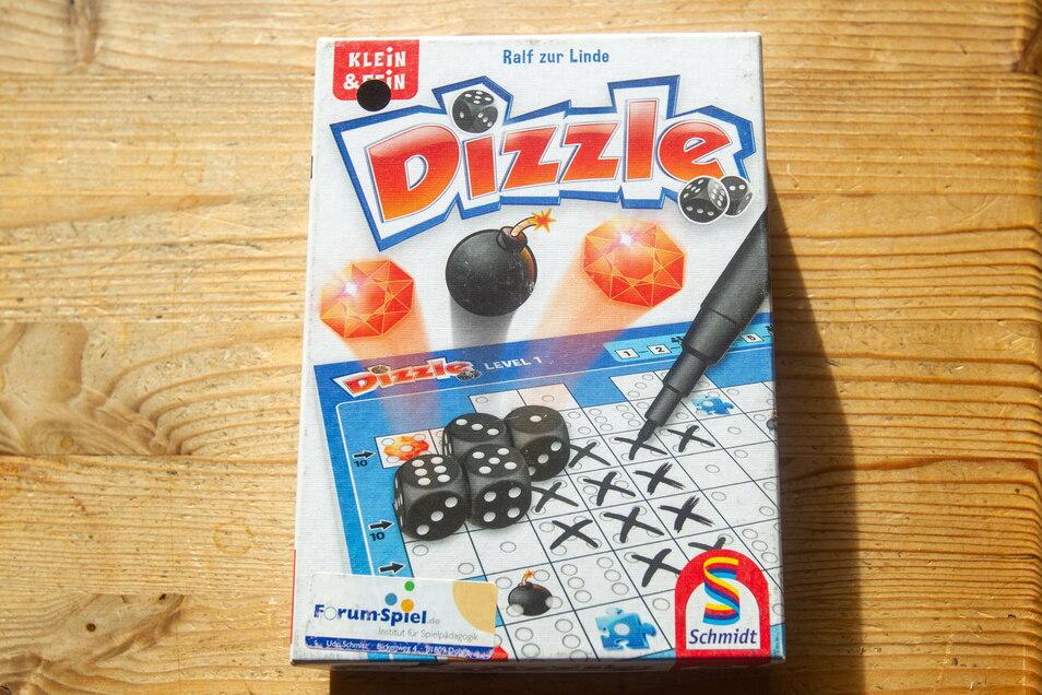 Funktioniert auch allein: Das Würfelspiel Dizzle.