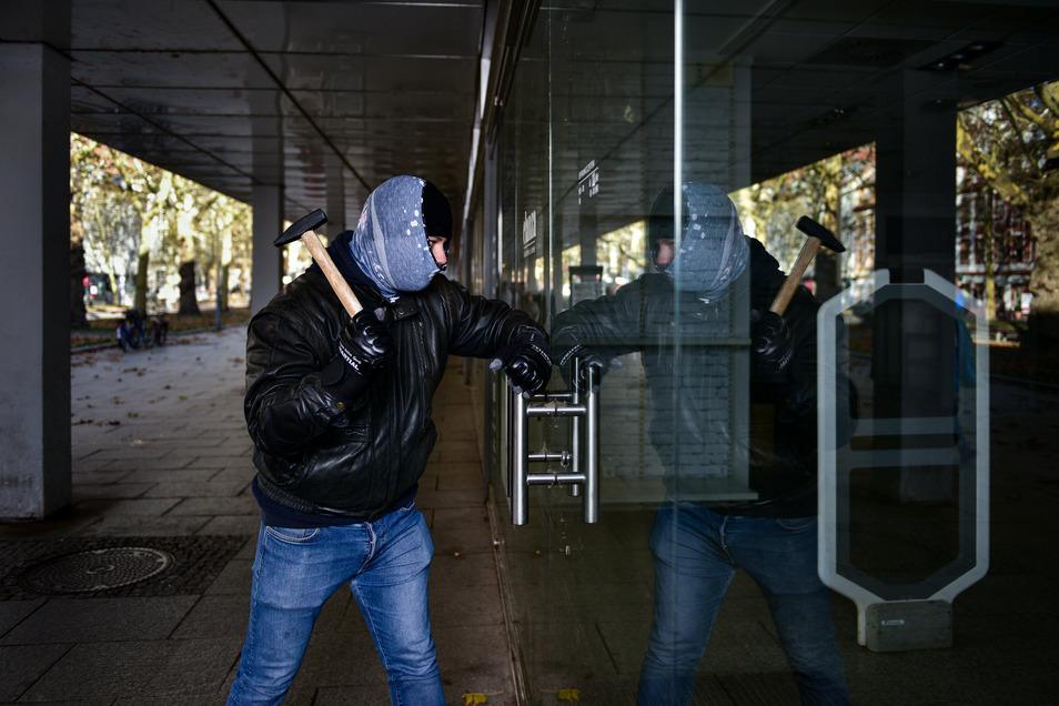 Während des Lockdowns wurde in Sachsen weniger eingebrochen. Doch seit Mitte Mai sind wieder mehr Kriminelle auf Sachsens Straßen.