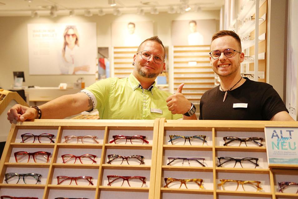 Gute Laune beim Brillenkauf: eyes&more im ELBEPARK.