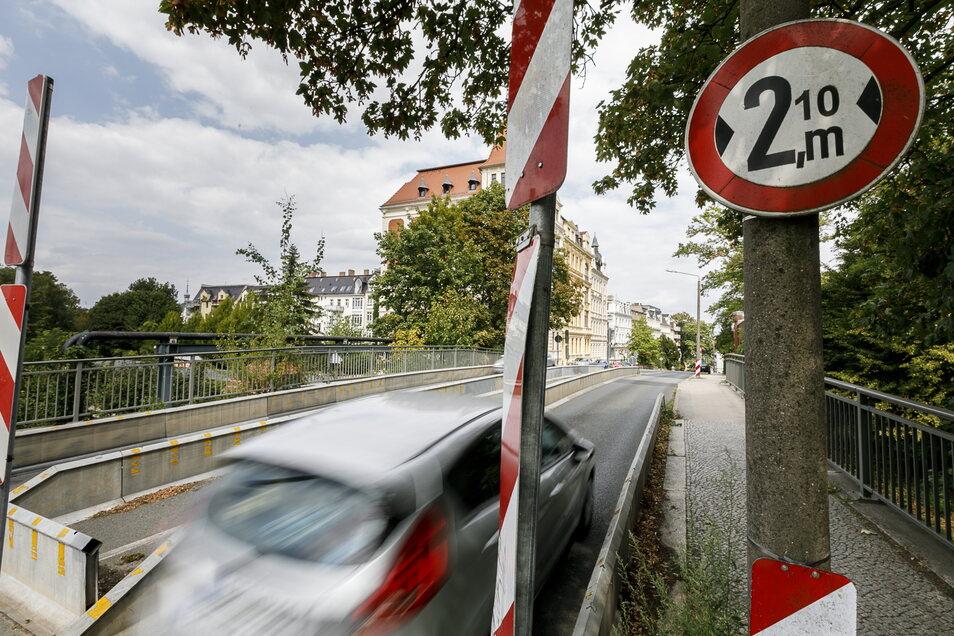Die Einschränkungen an der Görlitzer Blockhausbrücke sollen die längste Zeit bestanden haben.