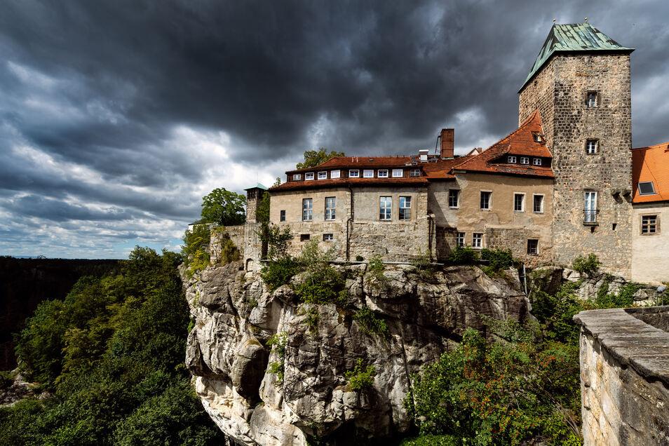 Burg Hohnstein wird am 24./25. August zum Austragungsort des Elbsandsteinbouldercups.