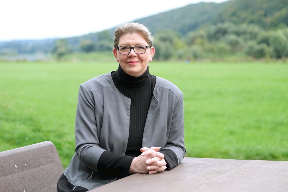 Bianca Wunderwald am Rande einer Wahlkampfveranstaltung der CDU im Biergarten am Boselblick. Zu Gast war der Ministerpräsident. Um solche Veranstaltungen auch in diesem Jahr möglich zu machen, war Spontanität gefragt.