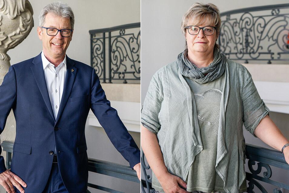 Rolf-Alexander Scholze ist der neue Fraktionschef der CDU im Bautzener Stadtrat, Andrea Kubank übernimmt den Fraktionsvorsitz der Linken.