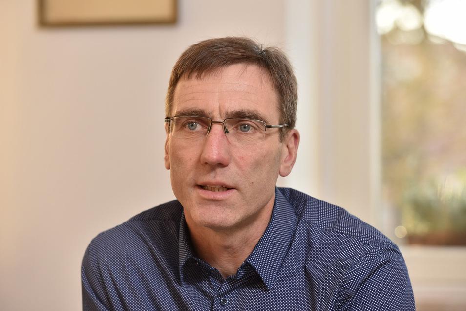 Torsten Schreckenbach will Bürgermeister in Klingenberg  bleiben.