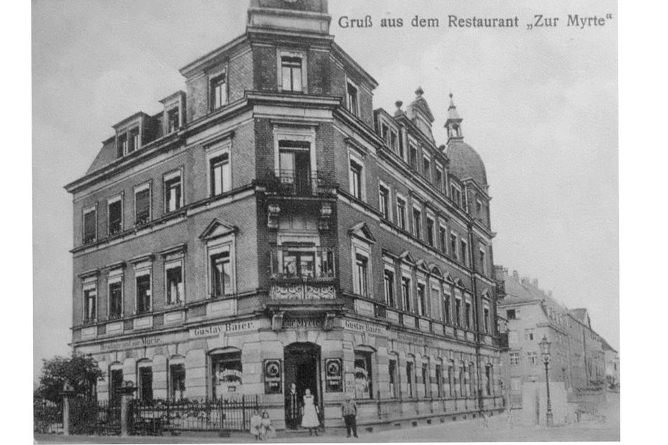 In die Bramschstraße 2 in Löbtau zog Leuschner mit seiner Familie.