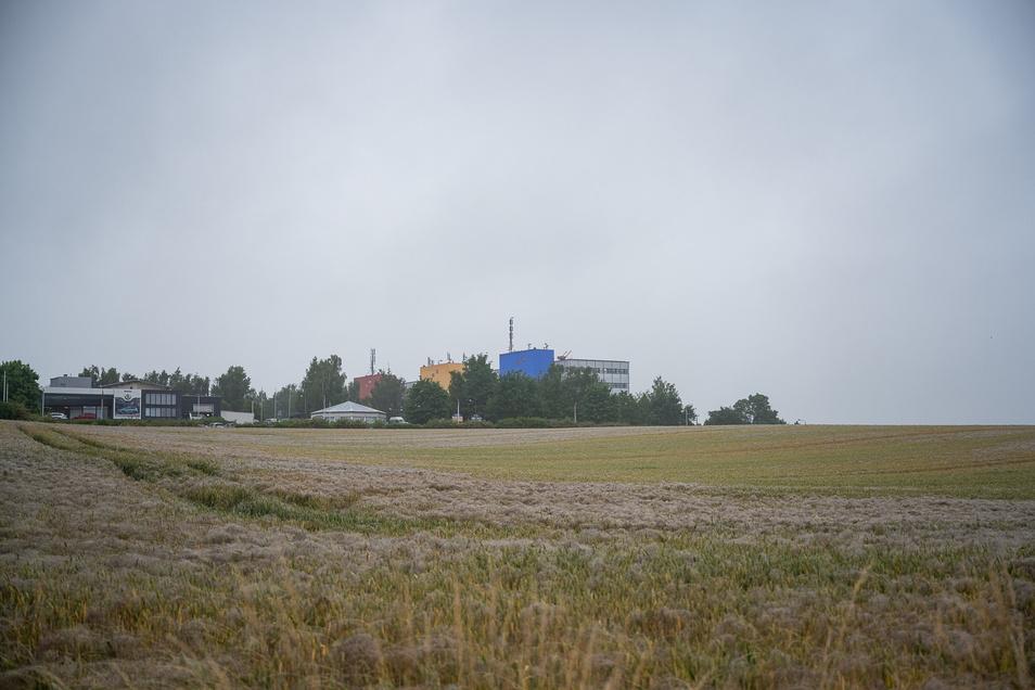 Dieses Gelände gegenüber dem Städtischen Klinikum in Görlitz könnte aus Sicht des Unternehmerverbandes Standort für neue Büro- und Forschungsgebäude sein.