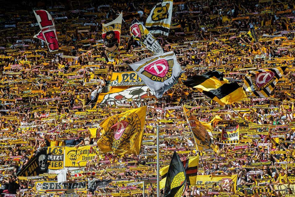 Ganz so voll wird es am Sonntag im K-Block zwar nicht, aber die derzeit maximal mögliche Fanmenge sollte sich gegen Werder Bremen dennoch dort einfinden.