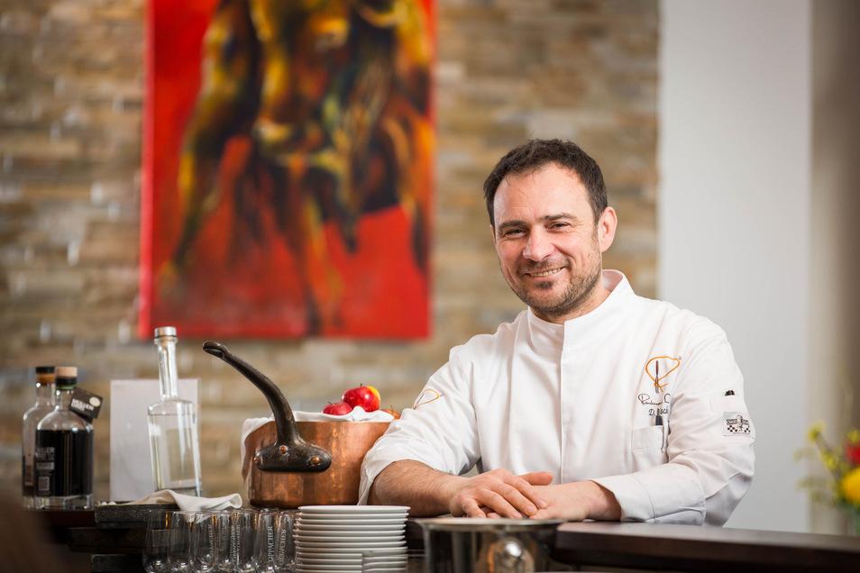 """Daniel Fischer ist Chef im Restaurant """"Daniel"""" und fordert, dass der Mindestlohn dann flächendeckend kontrolliert wird."""