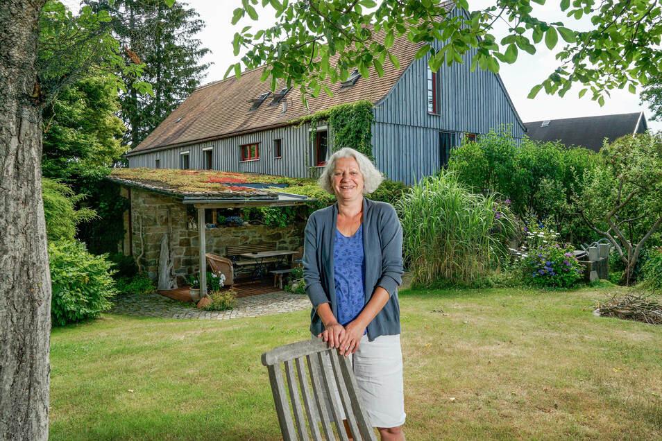 Seit 2004 vermieten Regina Liebig und ihr Mann in Rammenau eine Ferienwohnung. In diesem Jahr ist die Nachfrage besonders groß.