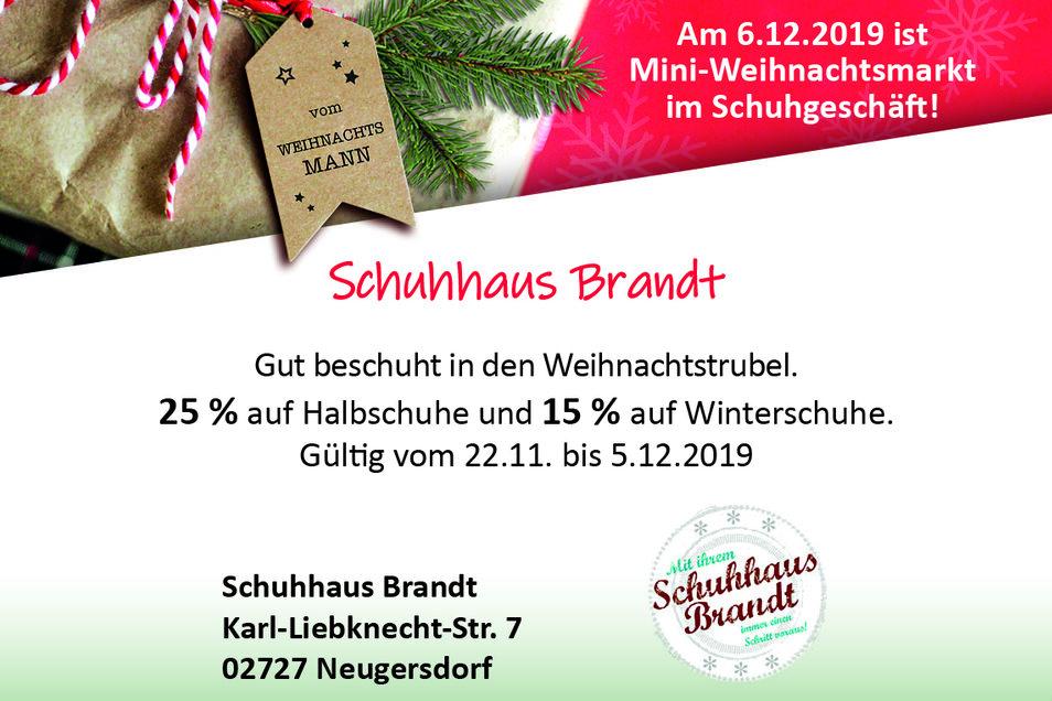 Schuhhaus Brandt, Karl-Liebknecht-Str. 7, 02727 Neugersdorf