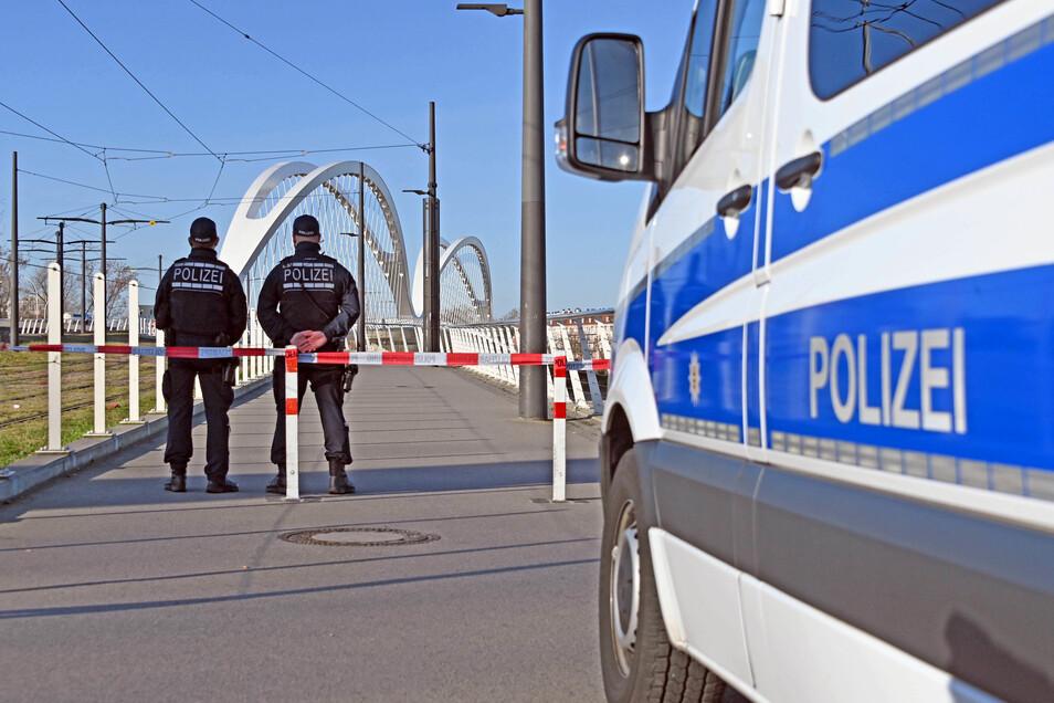 Der deutsch-französische Grenzübergang in Kehl. Nach Deutschland Einreisende sind verpflichtet, sich in Quarantäne zu begeben.
