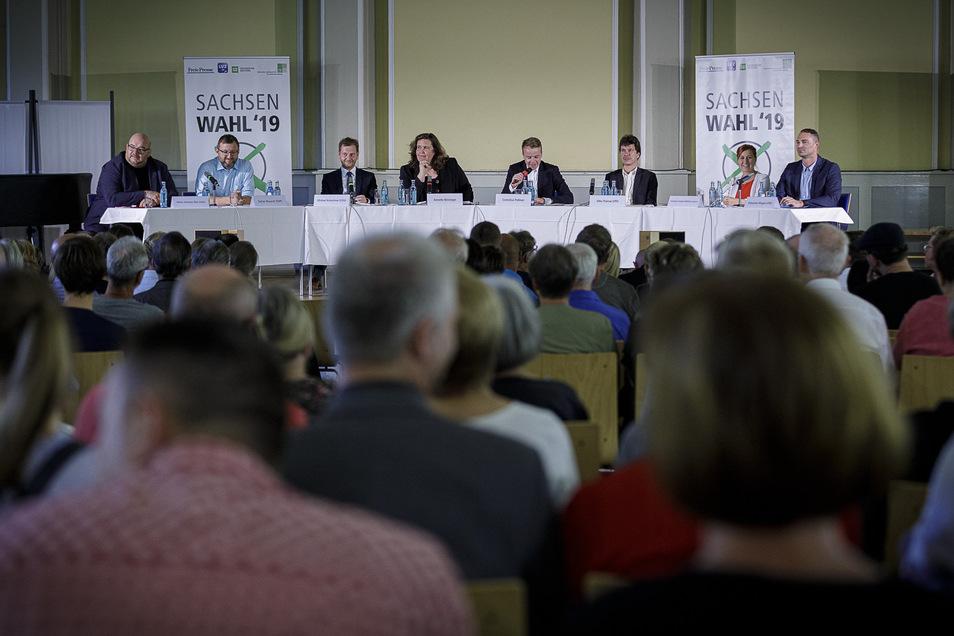 Das Wahlforum fand im gut gefüllten Wichernhaus in Görlitz statt.