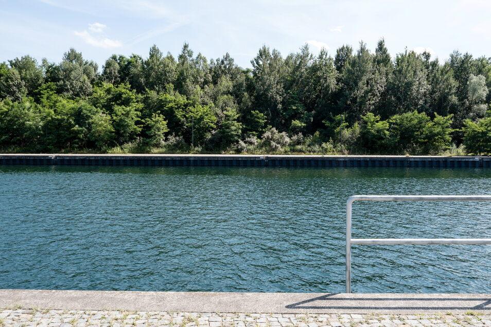 An diesem Abschnitt am Hafen soll der Segelstützpunkt entstehen.