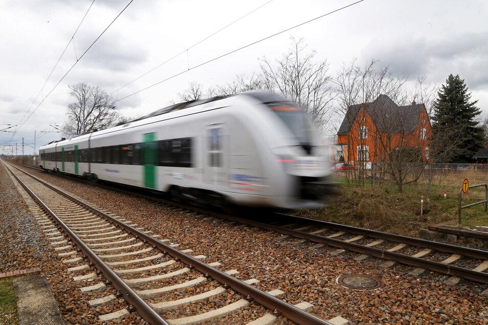 Mit solchen Zügen will die MRB jetzt zwei Tage lang von Riesa direkt nach Berlin und zurück fahren.