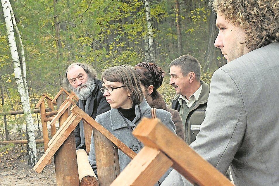 Besonders hat sich Torsten Pötzsch für den Muskauer Faltenbogen eingesetztz, den er als regionale Chance versteht.