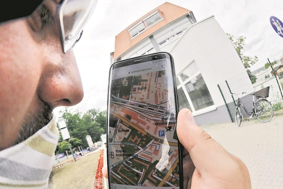 Um Weißwasser, seine Sehenswürdigkeiten und Angebote erkunden zu können, soll bald das Handy genügen. Vorausgesetzt, die Stadt-App ist installiert.