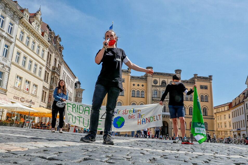 Alexander Hilse hat sich als Organisator bei Fridays for Future Zittau bereits einen Namen gemacht. Nun gehört er auch zu jenen, die einen Jugendstadtrat in Zittau fordern.