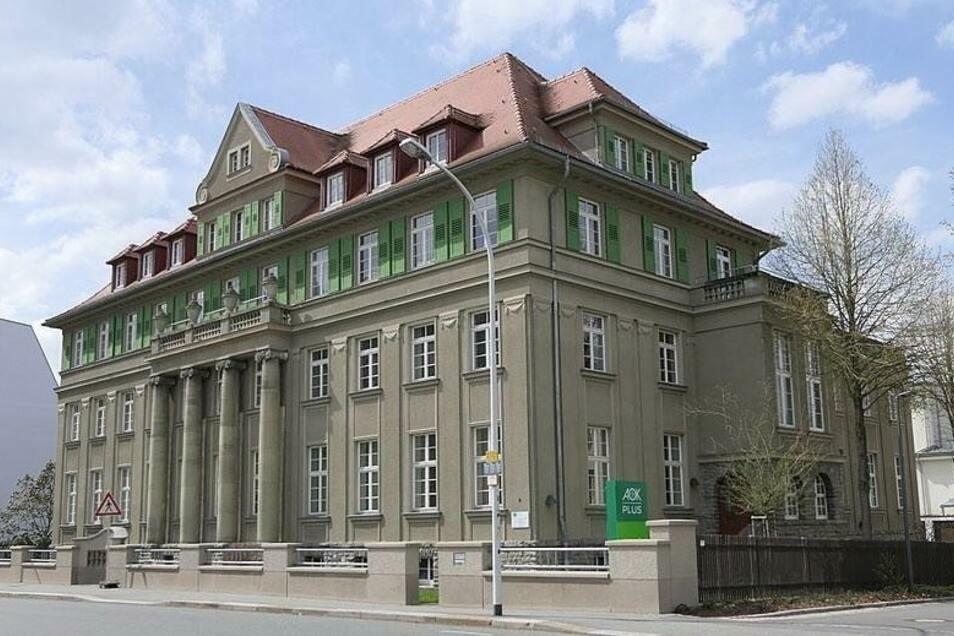 Das AOK-Gebäude an der Zittauer Hochwaldstraße.