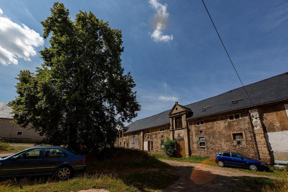 Das Rittergut liegt zentral in Colmnitz. Schon lange wird die Idee verfolgt, hier das Feuerwehrhaus unterzubringen. Dafür gibt es jetzt Fördergelder.
