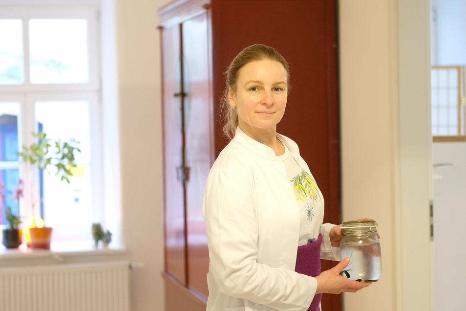 Heilpraktikerin Susanne Jahnke blickt nach der Eröffnung ihrer Praxis in Meißen auf ein erfolgreiches Jahr zurück.