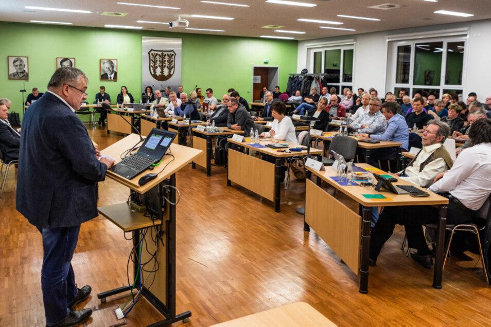 Sitzung vom Stadtrat in Hoyerswerda