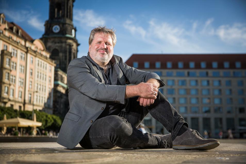 Sebastian Römisch ist Solo-Oboist an der Staatskapelle in Dresden. Mit zahlreichen Mitstreitern stellt er das Friedenskonzert auf die Beine.