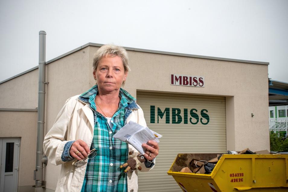Ihren Imbiss an der Landsberger Straße im Waldheimer Gewerbegebiet hat Steffi Georgi für immer zugeschlossen. In der ehemaligen Autowaschanlage hatte sie nach deren Umbau 19 Jahre lang die Gäste mit Speisen und Getränken verwöhnt.