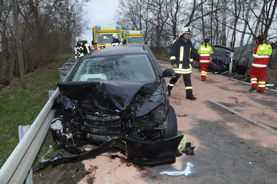 Die Fahrerin des Skoda wurde schwer verletzt.