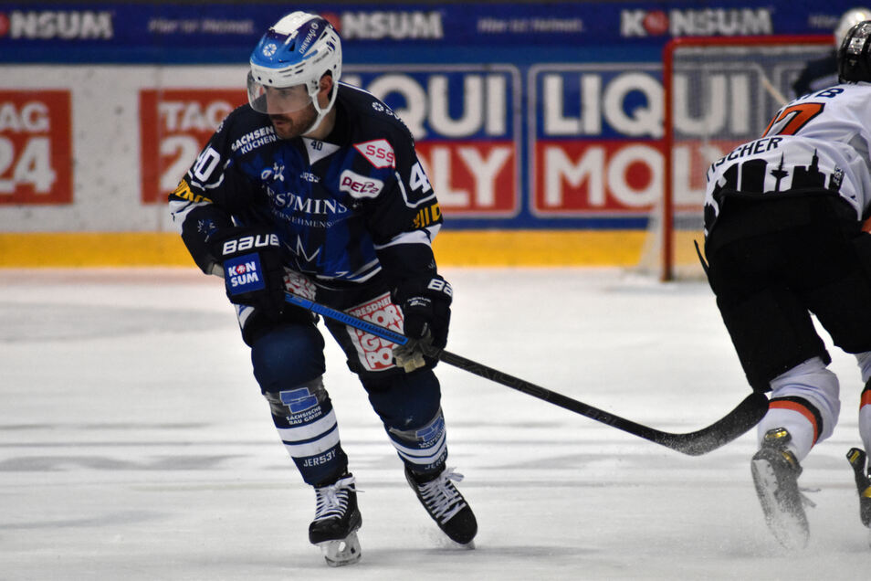 Nick Huard spielte vier Jahre für die Dresdner Eislöwen.