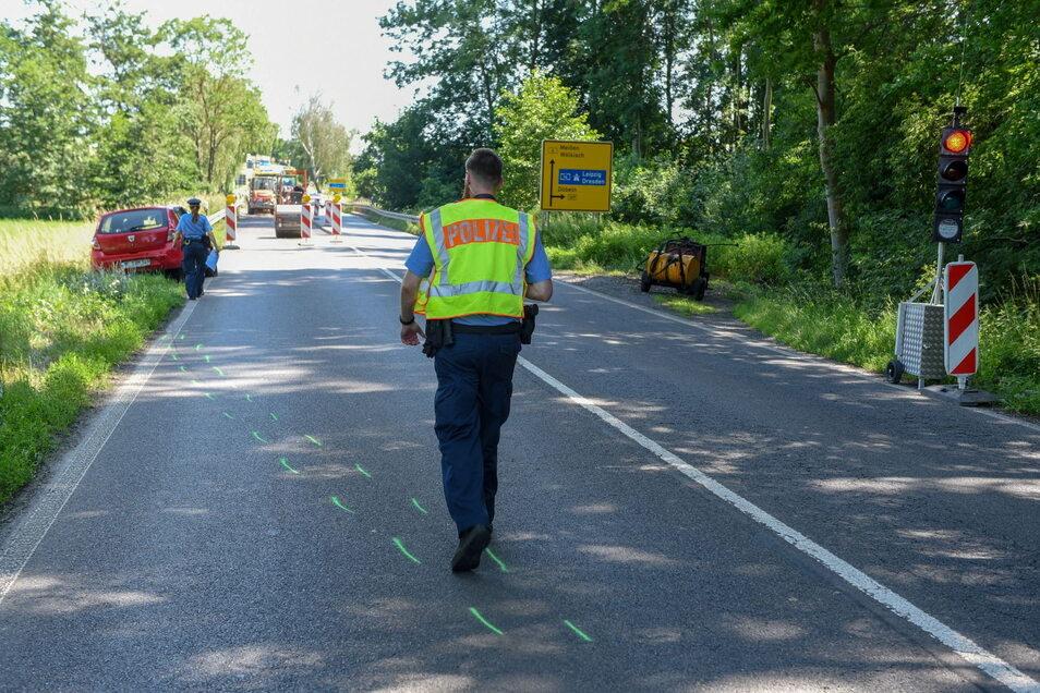 Wie es zu dem Unfall kam, ist unbekannt. Die Polizei ermittelt.
