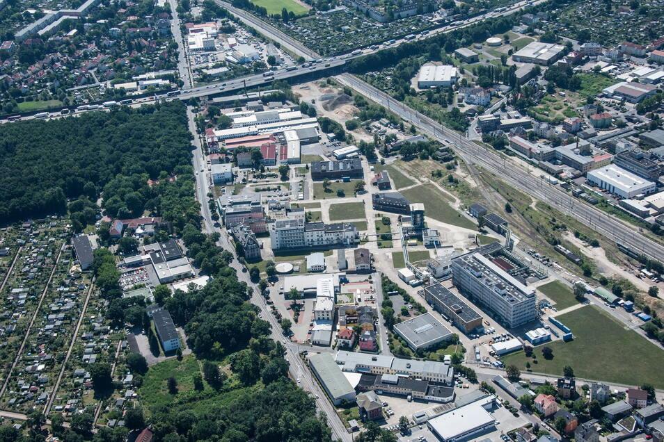 Im Gewerbegebiet Radebeul-Ost sind noch zwei Hektar frei.