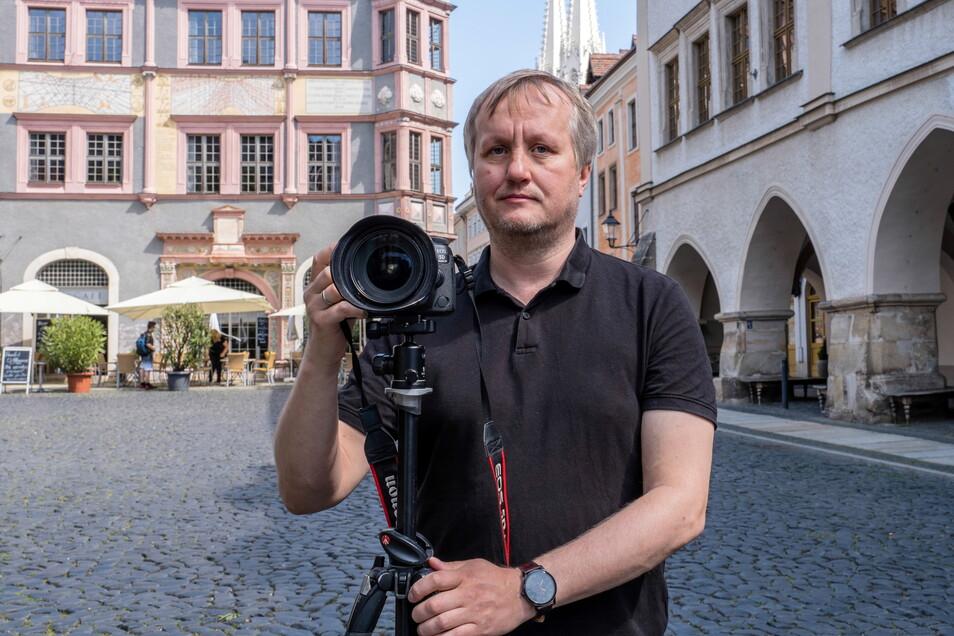 Nikolai Schmidt kennt nahezu jeden Ort, den man in Görlitz fotografieren kann. Jetzt ist sein Görlitz-Kalender erschienen.