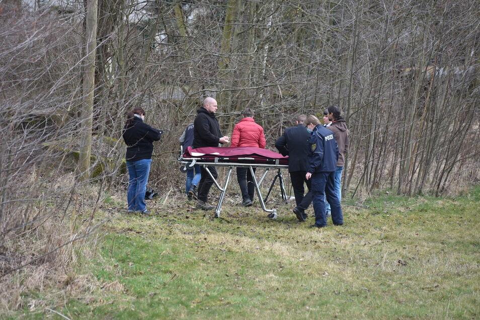 Im Mügelner Ortsteil Niedergoseln wurde am 23. März 2021 gegen 8.30 Uhr in einem kleinen Waldstück zwischen Staats- und Dorfstraße die Leiche eines Säuglings gefunden.