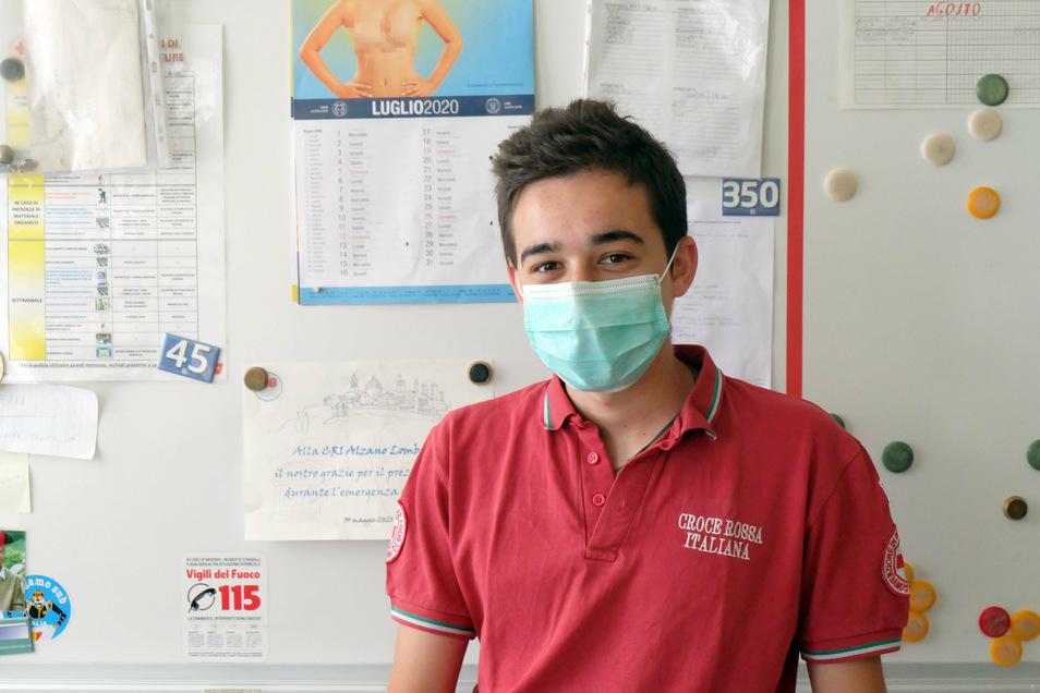 Sergio Solivani sah sich während der Corona-Pandemie täglich mit Entscheidungen über Leben und Tod konfrontiert