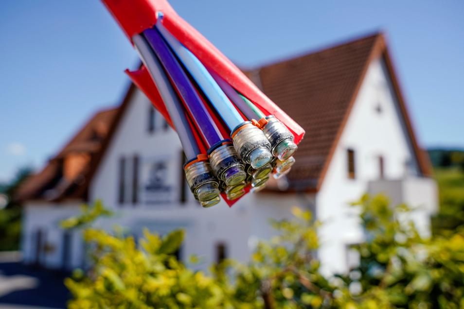 Fast alle Haushalte und Unternehmen im Landkreis Bautzen haben jetzt schnelles Internet.