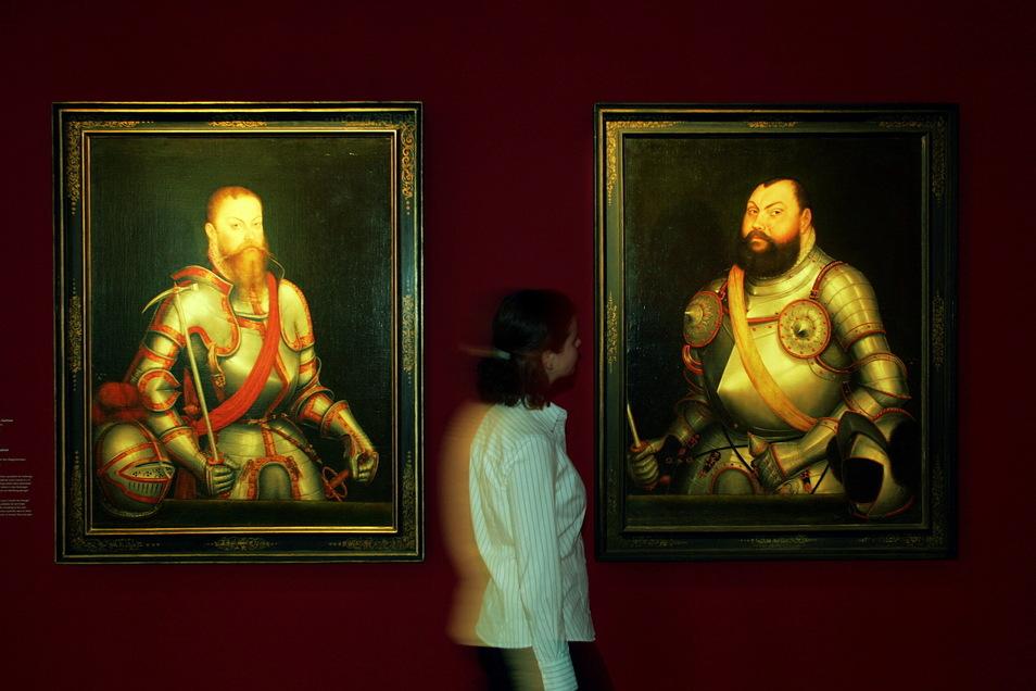 Glaube und Macht - so der Titel der Landesausstellung 2004 in Torgau. Cranach-Gemälde bildeten einen wichtigen Schwerpunkt. Meißen beherbergt davon einen weitgehend unbekannten Schatz.
