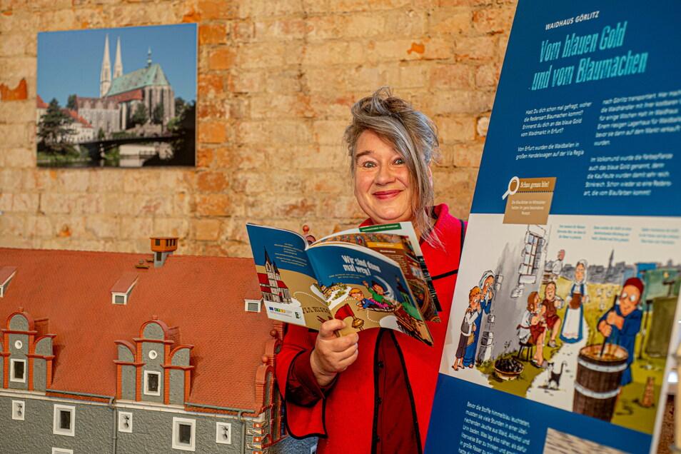 Valeska Martina Schöne aus Berlin arbeitete zwei Jahre lang an einem Projekt, um die Königsbrücker Modellbauausstellung vor allem für Familien mit Kindern interessanter zu machen.