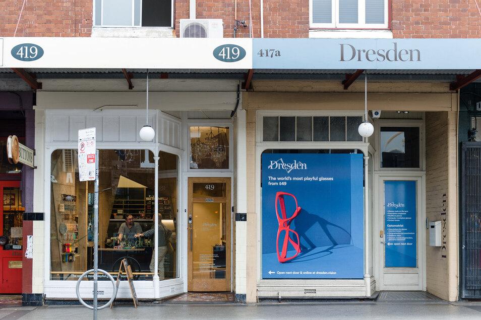 Die erste Dresden-Filiale eröffnete 2014 in Sydney. Die Australier wollen den Brillen-Vertrieb revolutionieren und nahmen sich vermeintlich deutsche Werte zum Vorbild.