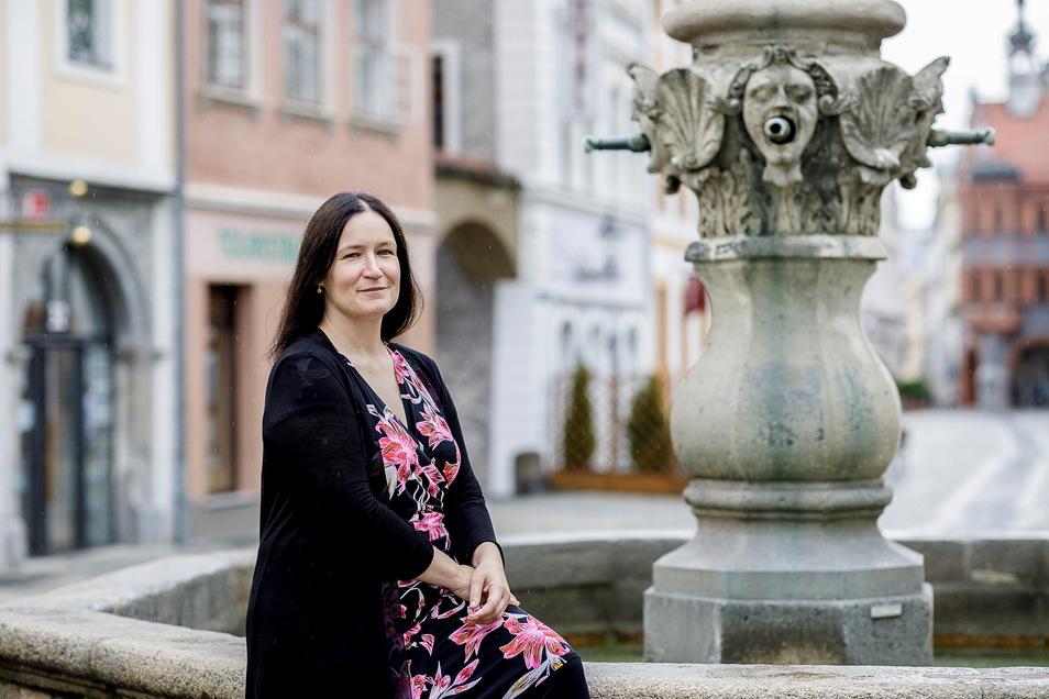 Andrea Behr, Geschäftsführerin der Europastadt Görlitz-Zgorzelec GmbH (EGZ) ist in Breslau dabei.