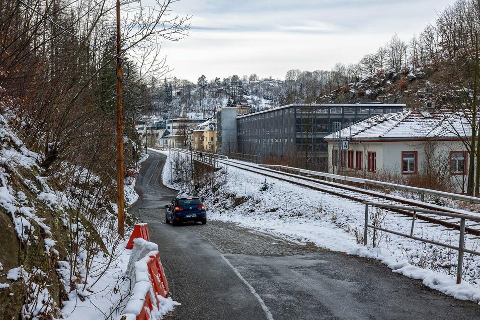 Die Straße am Ochsenkopf soll ausgebaut werden.