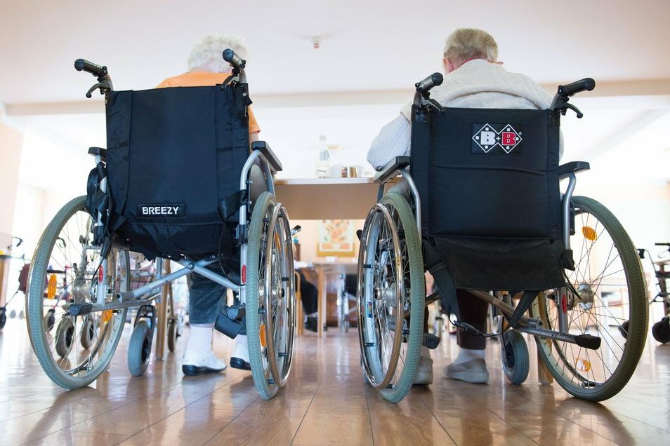 Die Pflegeheime in Mittelsachsen brauchen die Unterstützung von freiwilligen Helfern.