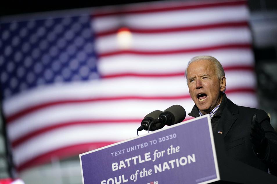 Im Schnitt der Florida-Umfragen lag Joe Biden über die vergangenen Wochen hauchdünn vorn