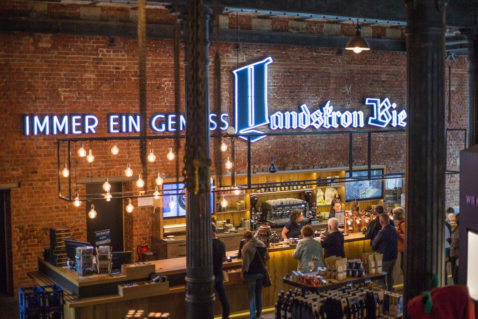 Viel los auch in Corona-Zeiten: das Besucherzentrum der Landskron Brauerei.