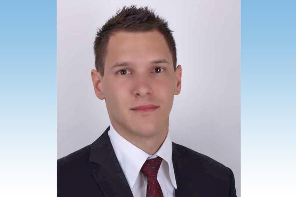 Ricardo Baldauf (CDU) will sein Amt als Stadtrat in Waldheim niederlegen.