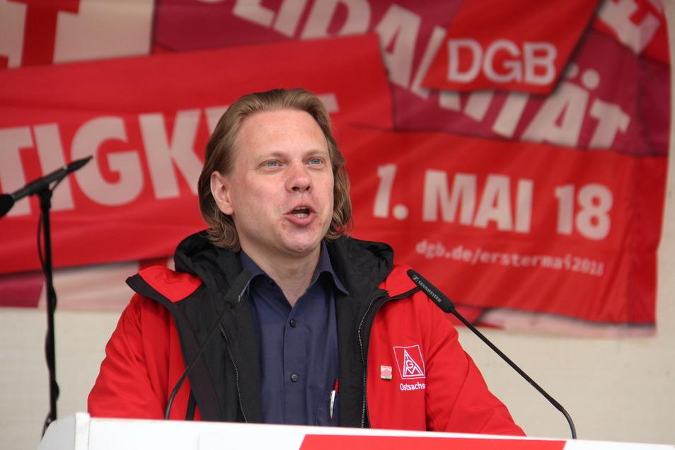 Seit 2015 stand Jan Otto an der Spitze der IG Metall in Ostsachsen.