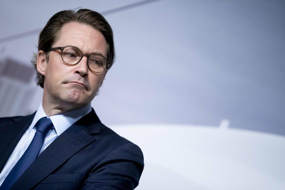 Andreas Scheuer (CSU), Bundesverkehrsminister, schlug am Mittwoch eine EU-weite Pkw-Maut vor.