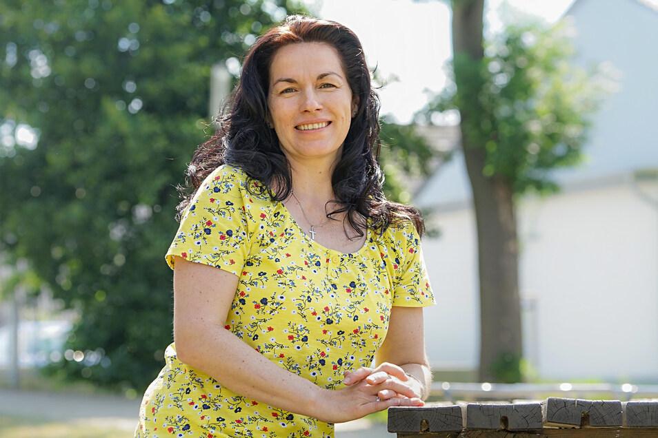 Jacqueline Schneider ist die neue Beauftragte für sorbische Angelegenheiten in Königswartha. Dafür lernt sie nun auch die Sprache.