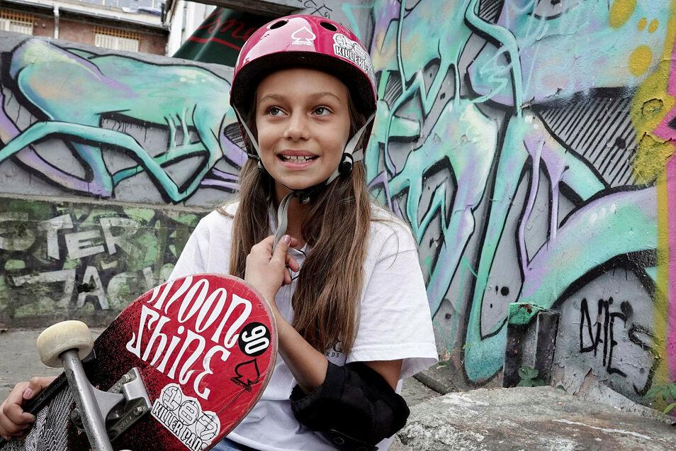 Lilly will bei den Olympischen Spielen in Tokio starten, dann mit 13 Jahren.